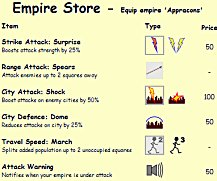 example shop screenshot
